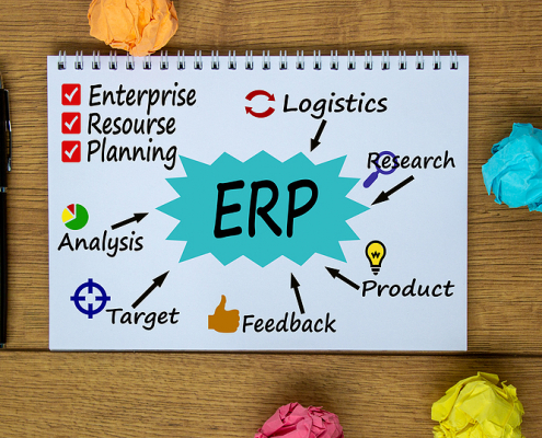 ERP Solution Concept in a paper